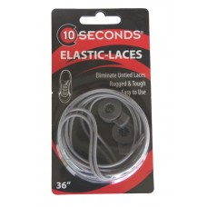 Ten Seconds Elastic Laces, Grey