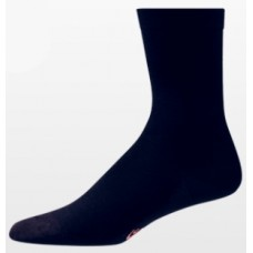 Aetrex Copper Sole Socks, Womens Dress/Casual, Crew, Navy