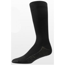 Aetrex Copper Sole Socks, Womens Compression Support, Knee Hi, Black
