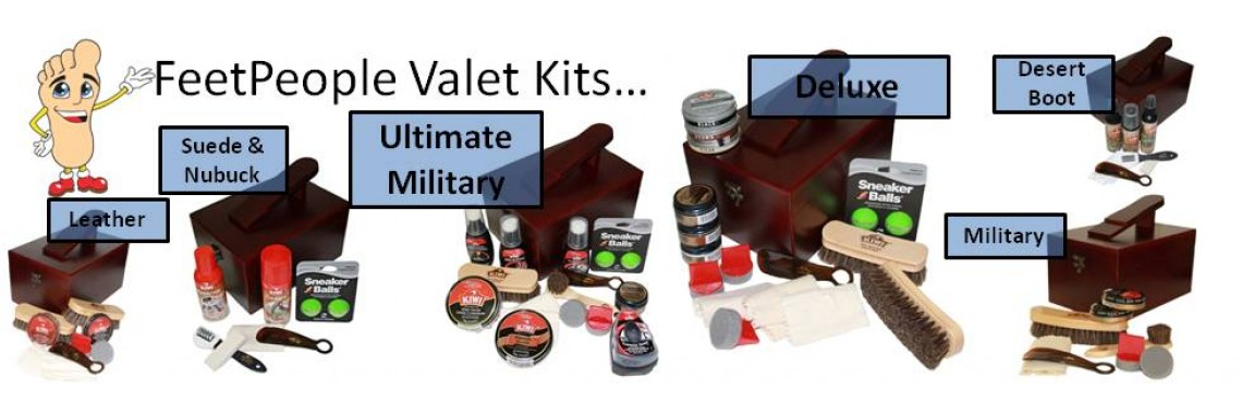FeetPeople Valet Kits