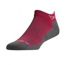 Drymax Running Mini Crew,  October Pink/Anthracite