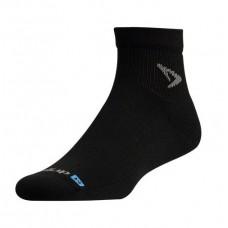 Drymax Run 1/4 Crew Socks Black