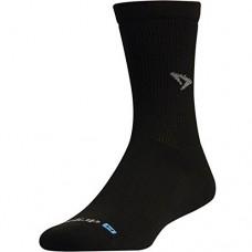 Drymax Run Crew Socks Black