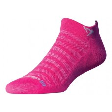 Drymax Running Lite-Mesh Mini Crew,  October Pink