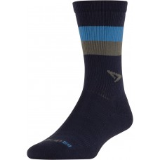 Drymax Running Lite-Mesh Crew,  Navy with Big Sky Blue/Gray