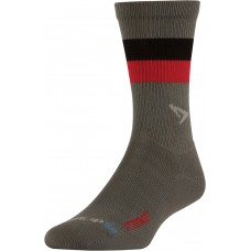 Drymax BITTERSWEET Running Lite-Mesh Crew,  Anthracite with Black/Red