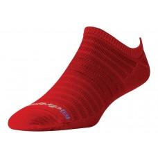 Drymax Hyper Thin Running No Show,  Torrid Red