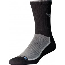 Drymax Trail Run Crew Socks,  Gray/Black