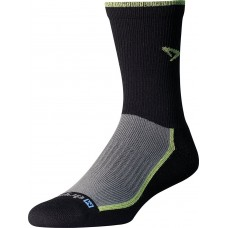Drymax Trail Run Crew,  Lime Green/Black/Gray