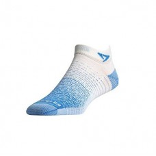 Drymax Thin Running Mini Crew,  Sky Blue / White