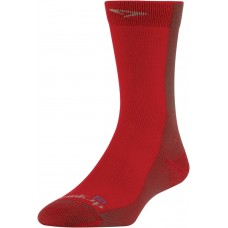 Drymax Cold Weather Running Crew,  Red