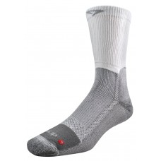 Drymax Work Boot Crew Socks,  White/Grey