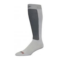 Drymax Skiing Ultra Thin Over Calf Sock - Light Gray/Gray