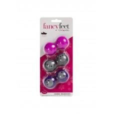 Fancy Feet Sneaker Deodorizers, 6 Pack, Girly Girl
