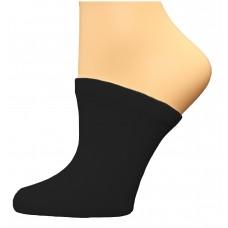 FootGalaxy Premium Clog Socks 1 Pair, Black