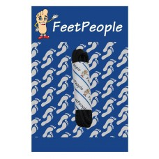 FeetPeople Waxed Round Dress Laces, Black