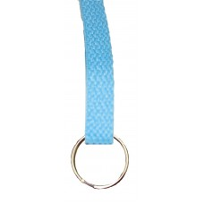 FeetPeople Flat Key Chain, Carolina Blue