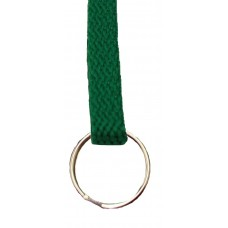 FeetPeople Flat Key Chain, Hunter Green