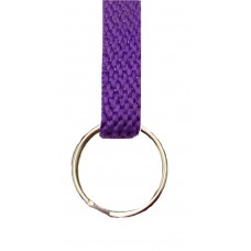 FeetPeople Flat Key Chain, Purple