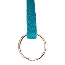 FeetPeople Flat Key Chain, Teal