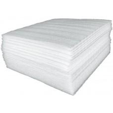 FootGalaxy Premier Packaging Foam, 1/8 Inch Thick, 12 Inch Sheet, 50 Sheets