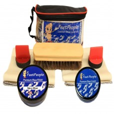 FeetPeople Premium Conditioning Kit with Travel Bag, Navy