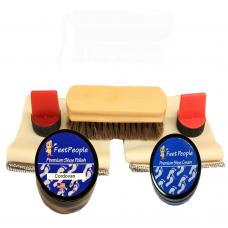 FeetPeople Premium Conditioning Refill Kit, Cordovan