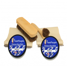 FeetPeople Deluxe Leather Refill Kit, Neutral