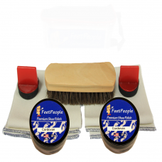 FeetPeople Premium Leather Care Refill Kit, Cordovan