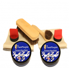 FeetPeople Ultimate Leather Refill Kit, Navy