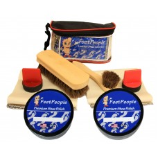 FeetPeople Ultimate Leather Care Kit with Travel Bag