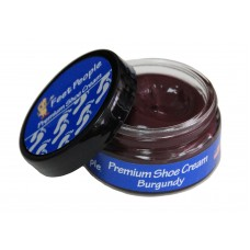 FeetPeople Premium Shoe Cream 1.5 oz, Burgundy