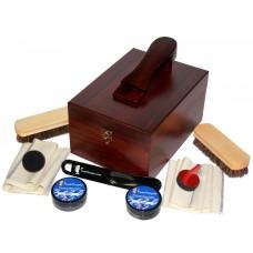 FeetPeople Shoe Polish Leather Care Valet Shoe Shine Kit