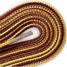 FootGalaxy Boot Laces, Gold and Tan