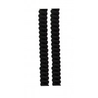 FootGalaxy Twister Curly Laces, Black