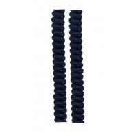 FootGalaxy Twister Curly Laces, Navy