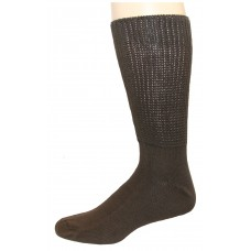 FootGalaxy Diabetic Socks (Brown)