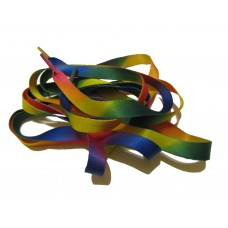FootGalaxy Printed Rainbow Flat Shoelaces*