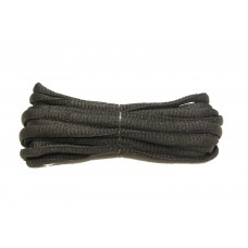 FootGalaxy Oval Laces For Boots And Shoes, Black