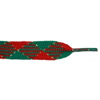 "FootGalaxy 45"" Christmas Red/Green with Gold Sparkle"