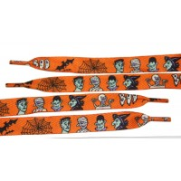 "FootGalaxy 45"" Halloween Boo Printed Shoe Laces"