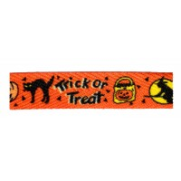 "FootGalaxy 45"" Halloween Trick or Treat Printed Shoe Laces"