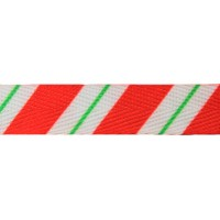 "FootGalaxy 45"" Christmas Candy Stripe Printed Shoe Laces"