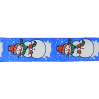 "FootGalaxy 45"" Christmas Snowman Printed Shoe Laces"