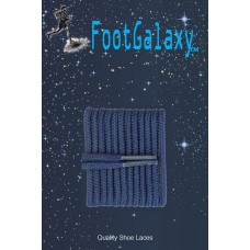 FootGalaxy High Quality Round Laces For Boots And Shoes, Navy