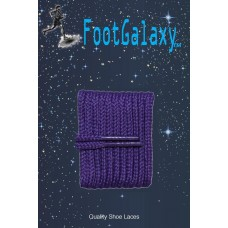 FootGalaxy High Quality Round Laces For Boots And Shoes, Purple