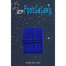 FootGalaxy High Quality Round Laces For Boots And Shoes, Royal