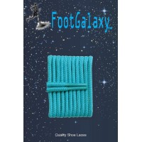 FootGalaxy High Quality Round Laces For Boots And Shoes, Teal
