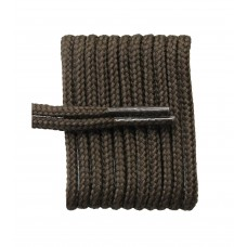 FootGalaxy High Quality Round Laces For Boots And Shoes, Brown