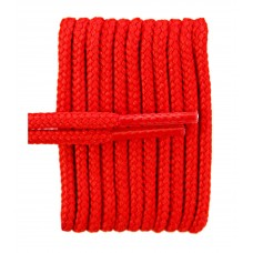 FootGalaxy High Quality Round Laces For Boots And Shoes, Red